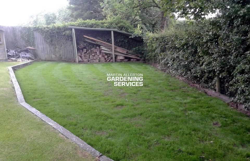 Hilderstone garden clearance - after