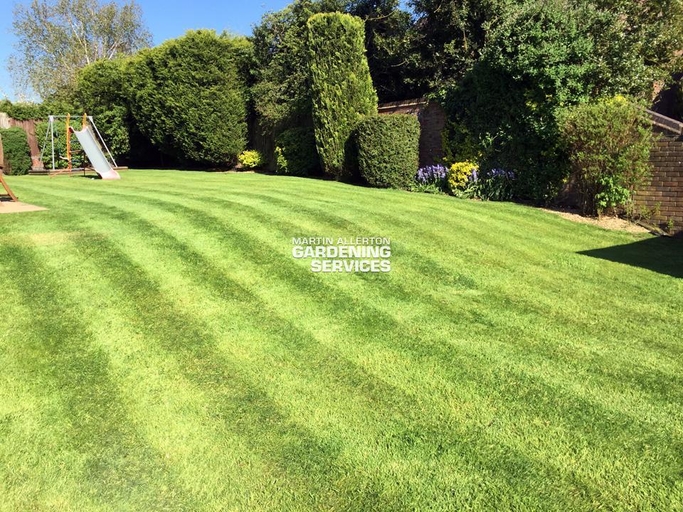 Hilderstone lawn cut