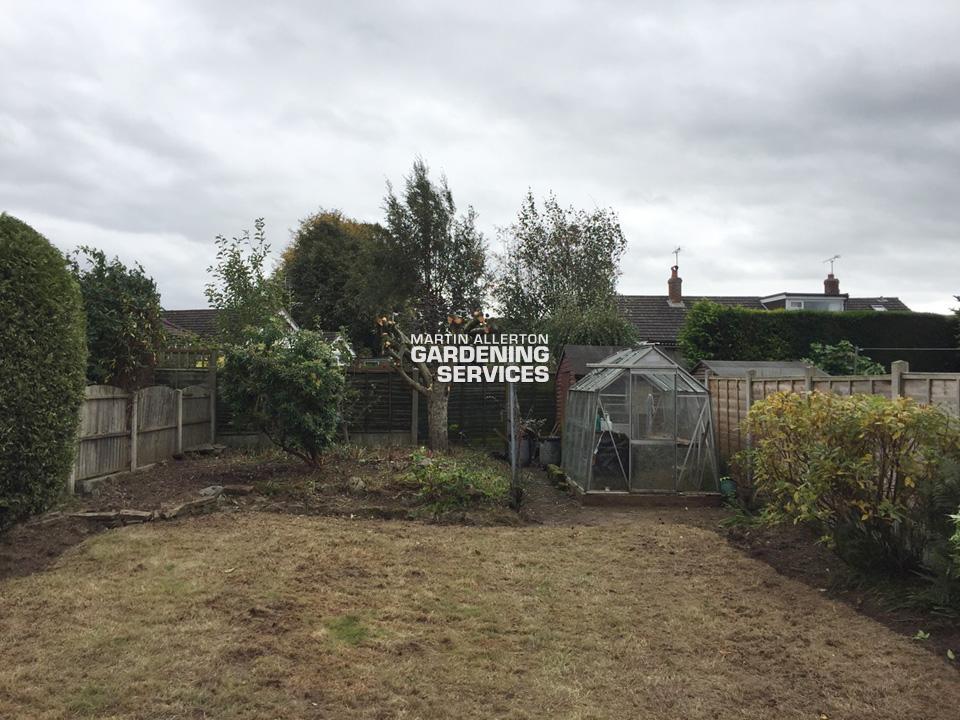Stone garden (far) - after